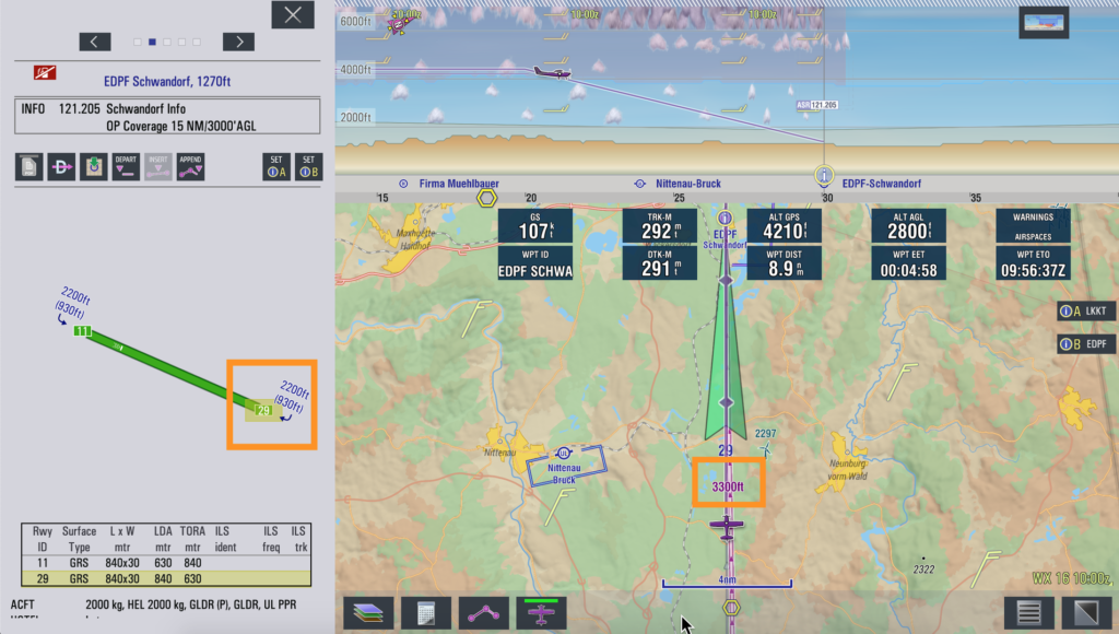 971 Runway extension EasyVFR 4