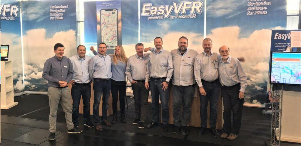 EasyVFR crew at Aero 2019