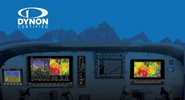 Dynon Avionics SkyView blue mountain background
