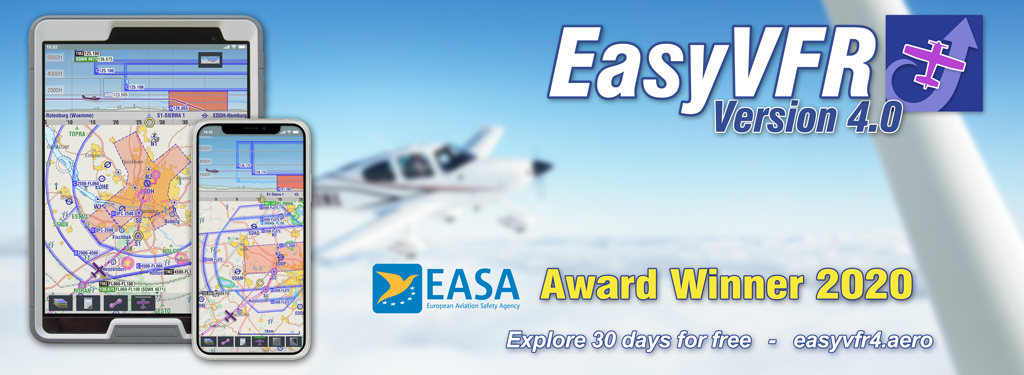EASA GA Safety Award EasyVFR 4 by PocketFMS