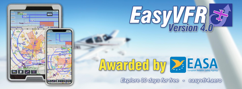 EASA GA Safety Award EasyVFR 4 by PocketFMS