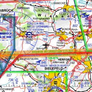 DFS German VFR ICAO Chart 2019