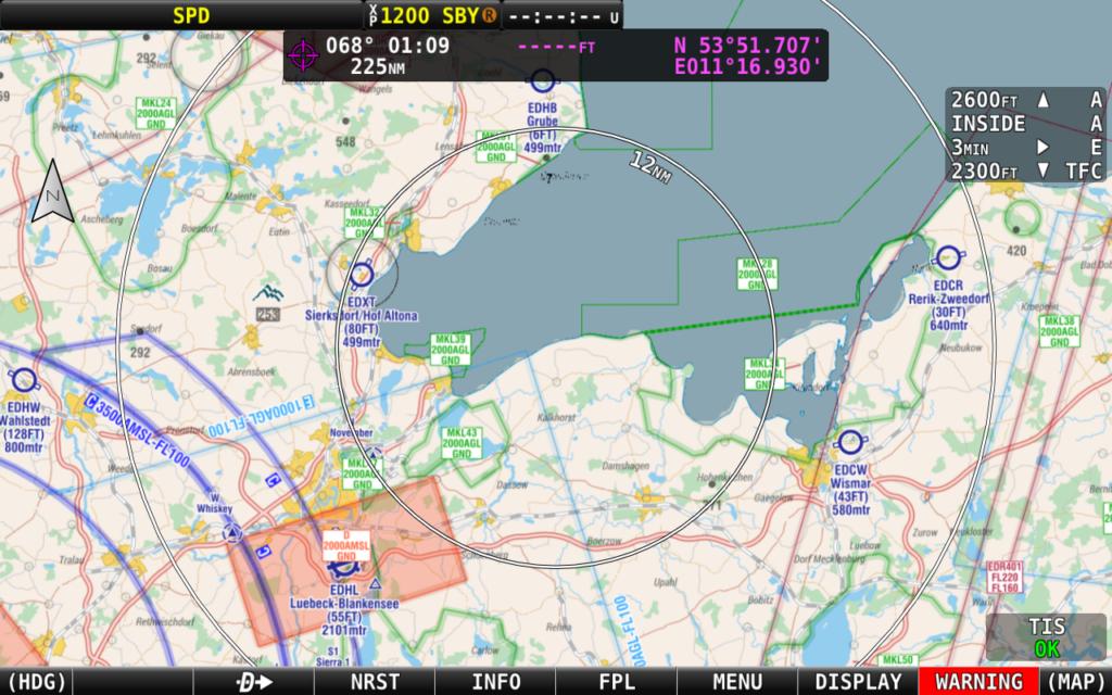 SkyView HDX EV4 2107 chart
